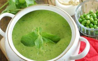 Зеленый крем суп