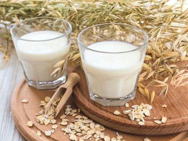 Овсяное молоко при диете