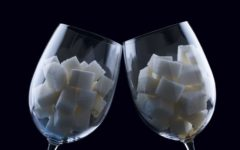 Бокалы с сахаром