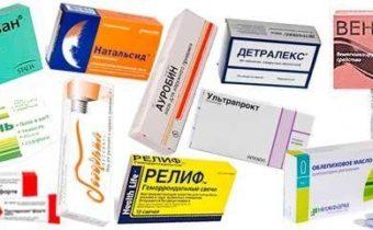 лекарства при геморрое