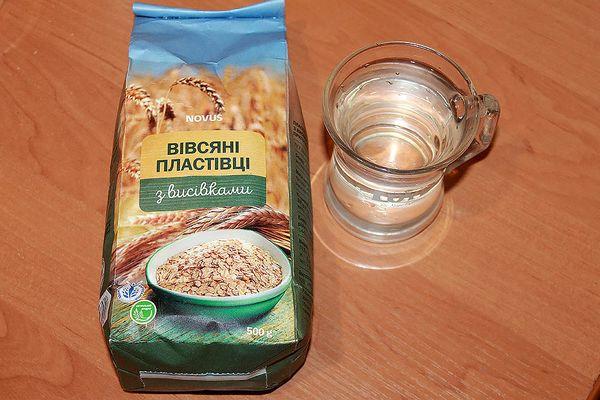Ингредиенты для приготовления киселя