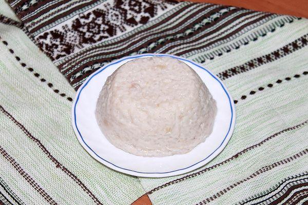 рисовый пудинг - десерт