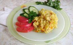 рис с овощами на пару
