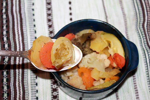 Овощное диетическое рагу