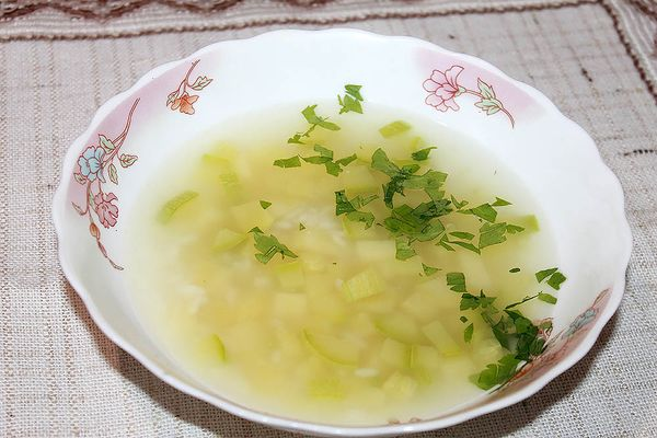 овощной суп при гастрите