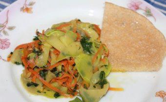 рецепт кабачковой лапши