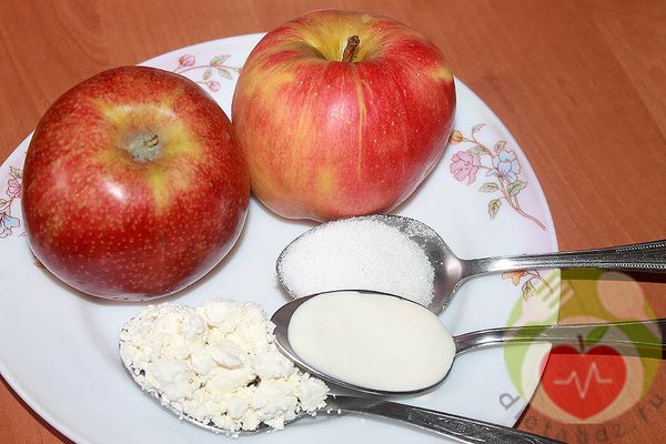 продукты для запекания яблок