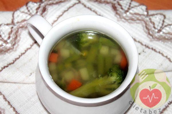 суп из овощей при колите