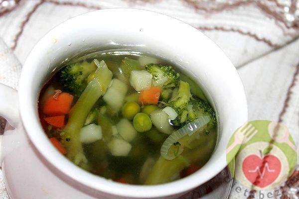 овощной суп при колите