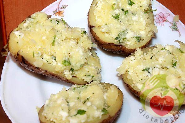 Фаршируем картофель