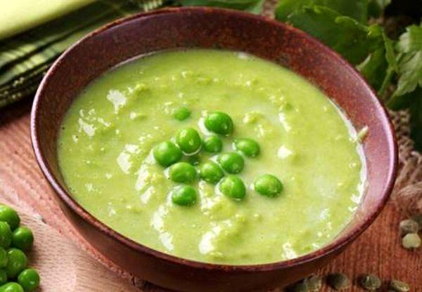 крем суп из горошка