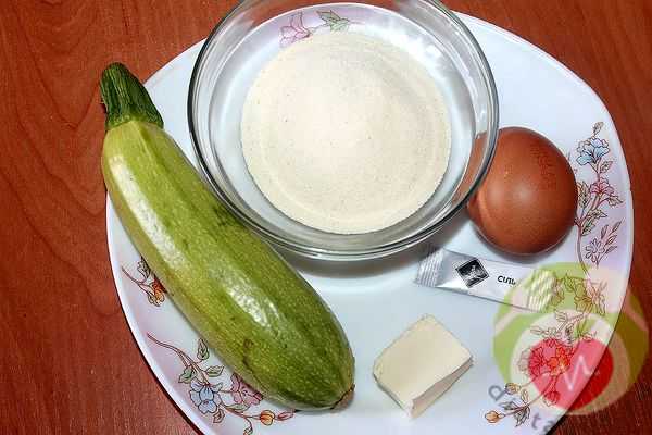 продукты для суфле из кабачков