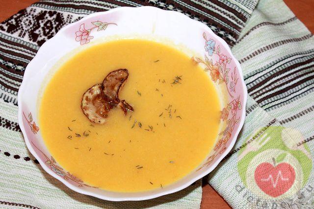 суп пюре из кабачка