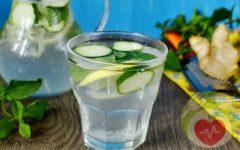 Имбирно-лимонная вода