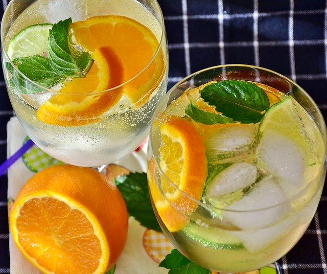 сасси с апельсином