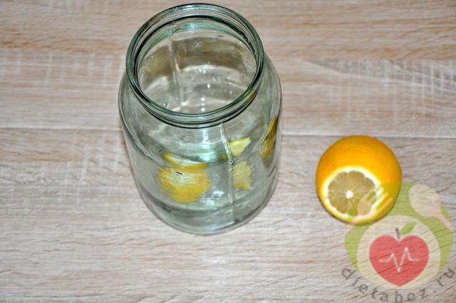 Лимон в банке