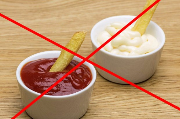 Майонез и кетчуп