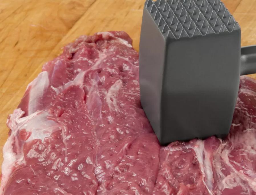 Мясо отбить